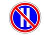 Знак 3.30 Стоянка запрещена по четным числам месяца с пояснениями