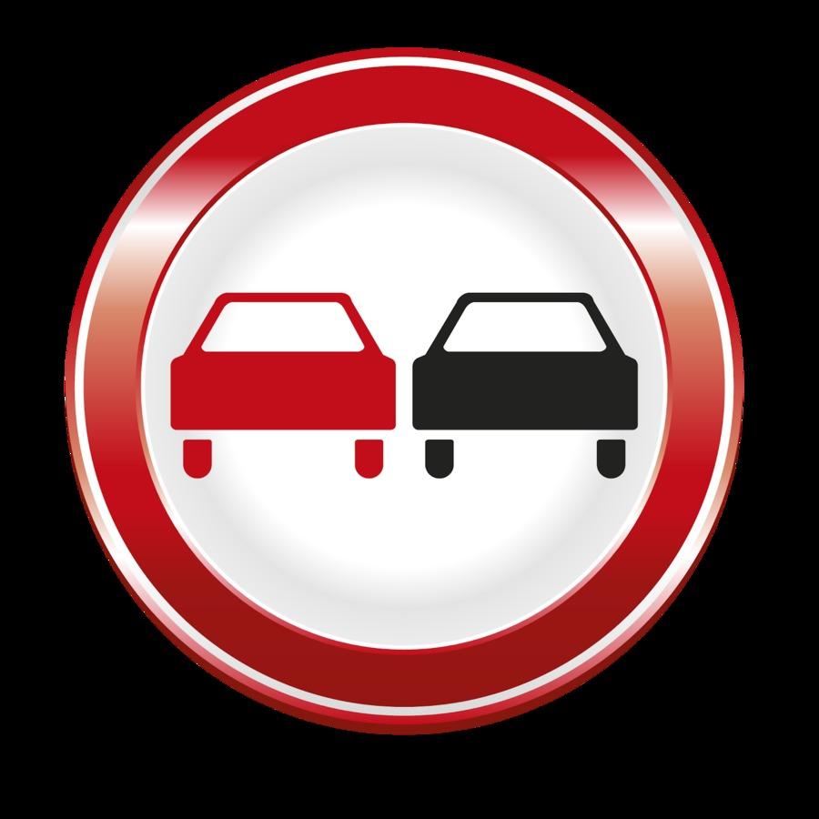 Обгон запрещен - штраф за нарушение знака в 2020 году и где он запрещен по умолчанию